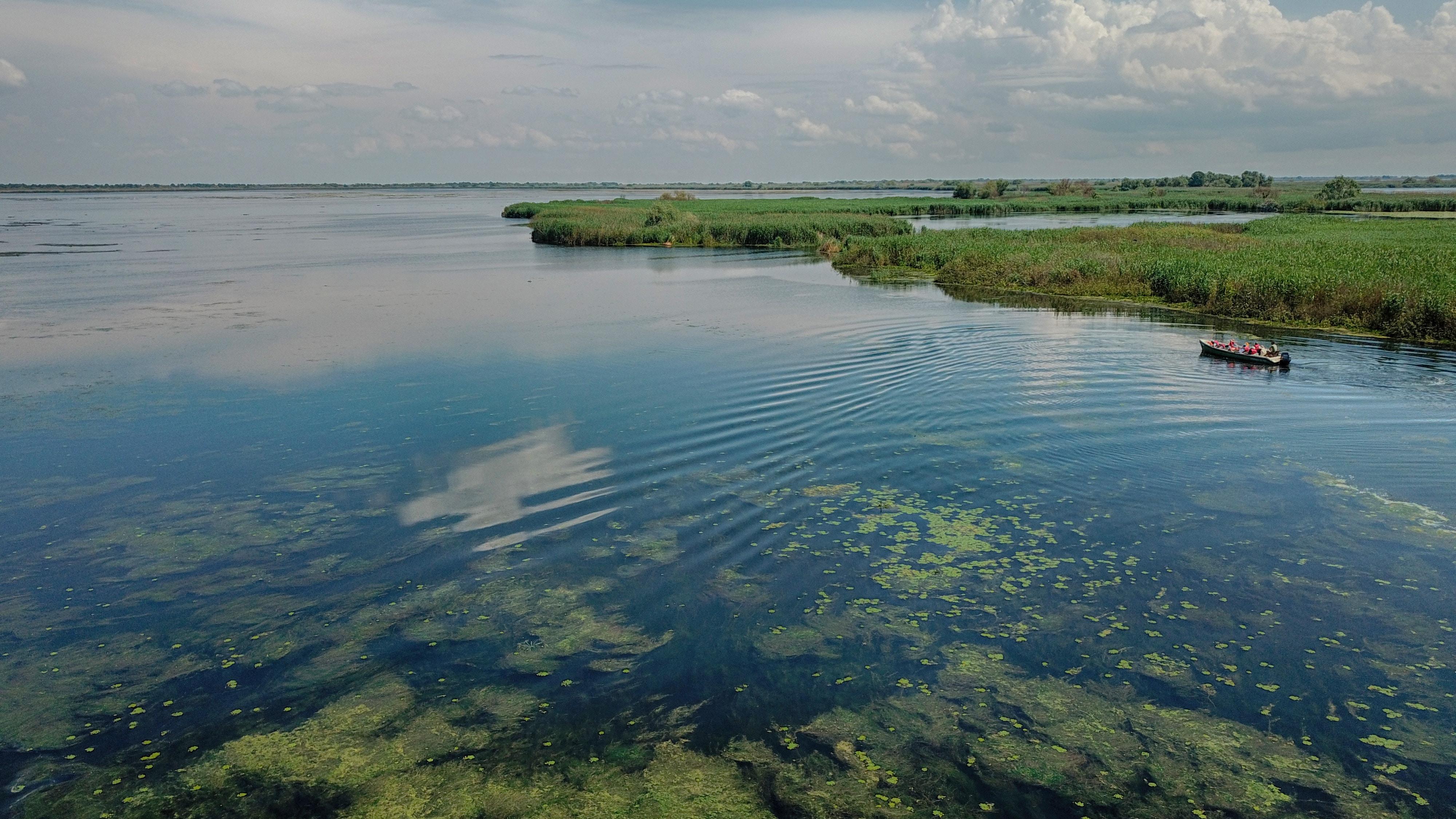 Danube Delta waterland