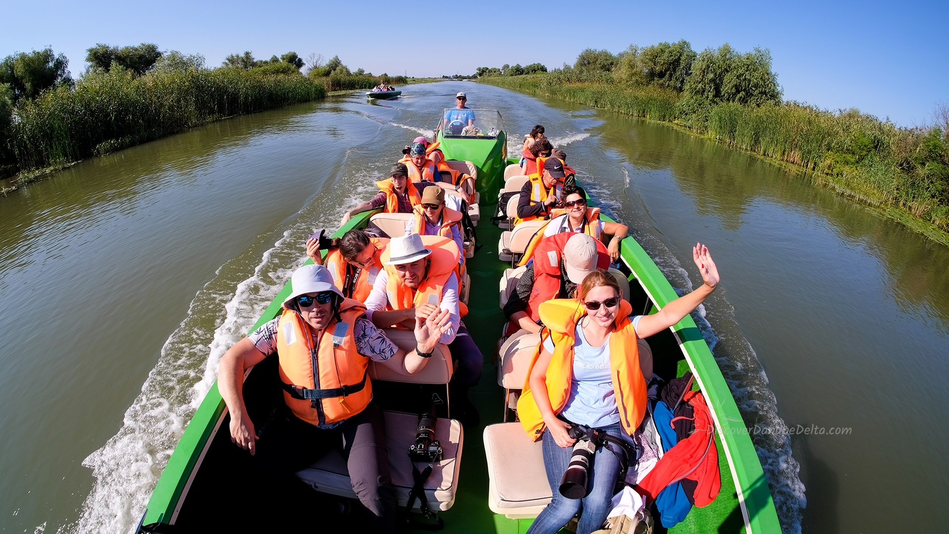 trip boat danube delta